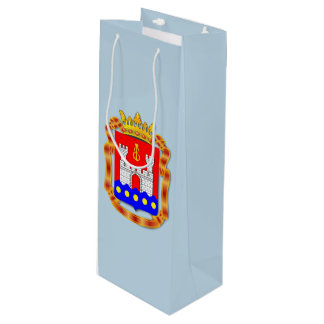 Coat of arms of Kaliningrad oblast Wine Gift Bag