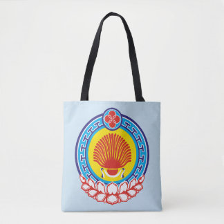 Coat of arms of Kalmykia Tote Bag