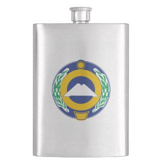 Coat of arms of Karachay-Cherkessia Hip Flask