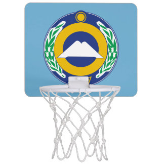 Coat of arms of Karachay-Cherkessia Mini Basketball Hoop