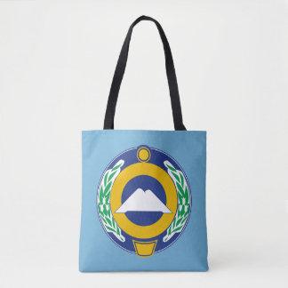 Coat of arms of Karachay-Cherkessia Tote Bag