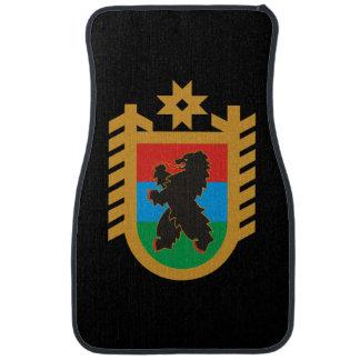 Coat of arms of Karelia Car Mat