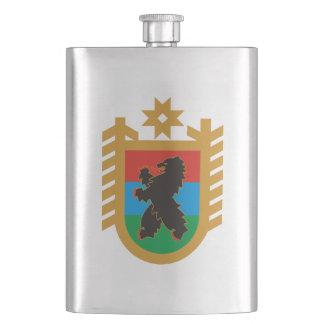 Coat of arms of Karelia Hip Flask