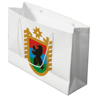 Coat of arms of Karelia Large Gift Bag