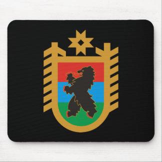 Coat of arms of Karelia Mouse Pad