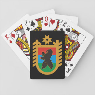 Coat of arms of Karelia Playing Cards