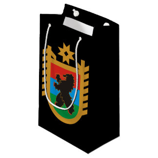 Coat of arms of Karelia Small Gift Bag