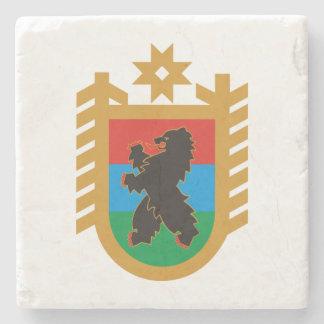 Coat of arms of Karelia Stone Coaster