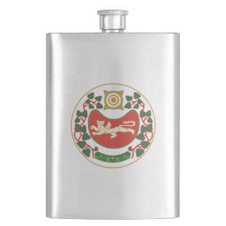 Coat of arms of Khakassia Hip Flask