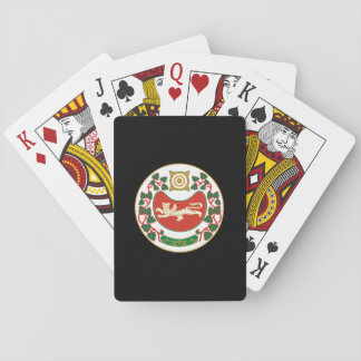 Coat of arms of Khakassia Playing Cards