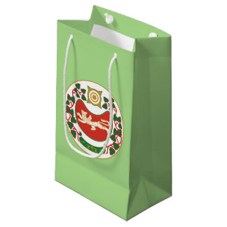Coat of arms of Khakassia Small Gift Bag