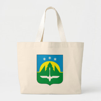 Coat_of_Arms_of_Khanty-Mansiysk Large Tote Bag