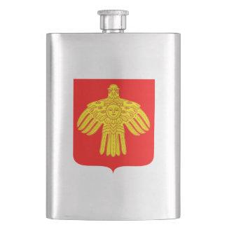 Coat of arms of Komi Hip Flask