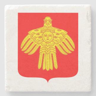 Coat of arms of Komi Stone Coaster