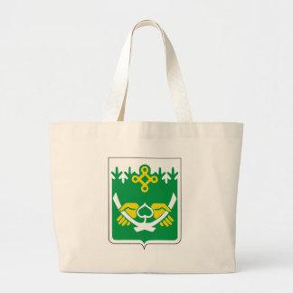 Coat_of_Arms_of_Kostomuksha Large Tote Bag