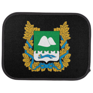Coat of arms of Kurgan oblast Car Mat