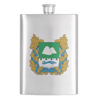 Coat of arms of Kurgan oblast Hip Flask