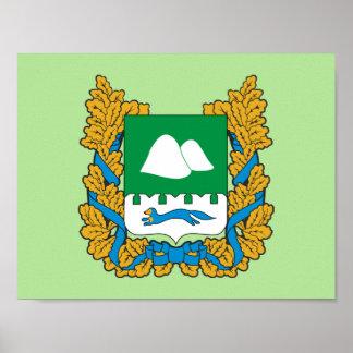 Coat of arms of Kurgan oblast Poster