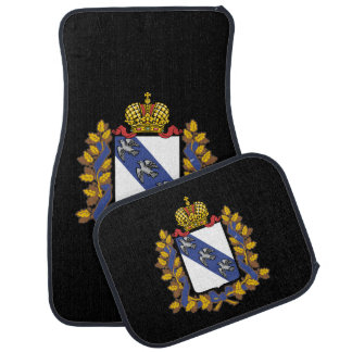 Coat of arms of Kursk oblast Car Mat