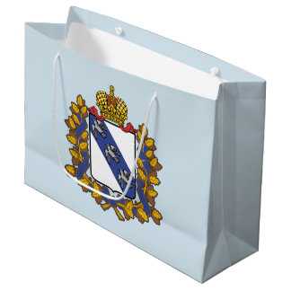 Coat of arms of Kursk oblast Large Gift Bag