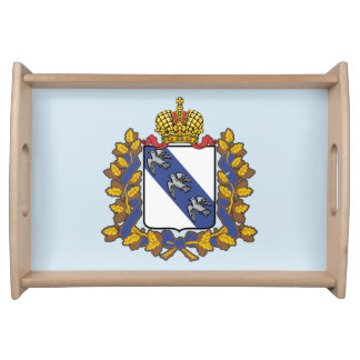 Coat of arms of Kursk oblast Serving Tray