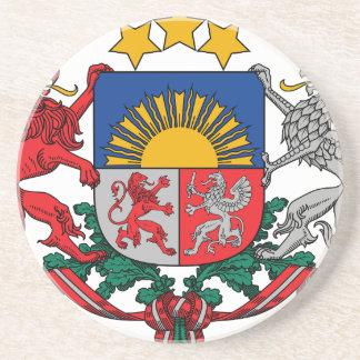 Coat of arms of Latvia - Latvijas ģerbonis Coaster