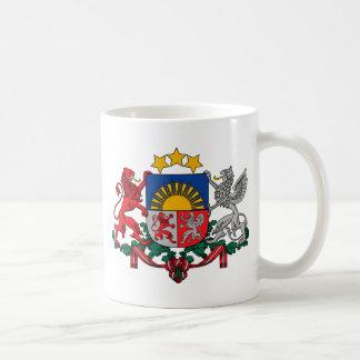 Coat of arms of Latvia - Latvijas ģerbonis Coffee Mug