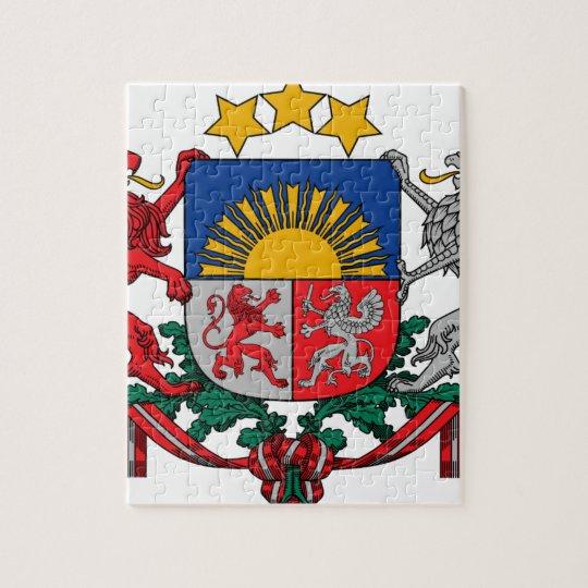 Coat of arms of Latvia - Latvijas ģerbonis Jigsaw Puzzle