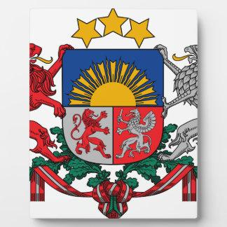 Coat of arms of Latvia - Latvijas ģerbonis Plaque