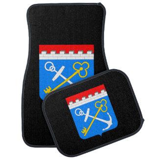 Coat of arms of Leningrad oblast Car Mat