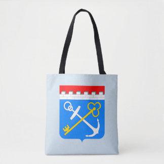 Coat of arms of Leningrad oblast Tote Bag