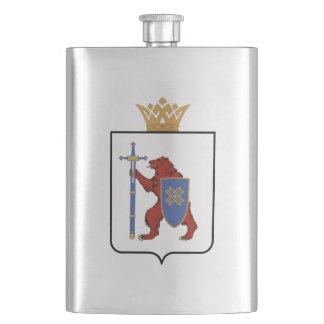 Coat of arms of Mari El Hip Flask