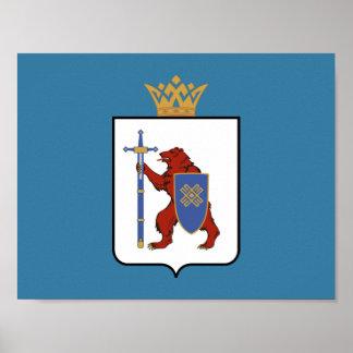 Coat of arms of Mari El Poster