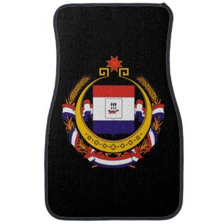 Coat of arms of Mordovia Car Mat