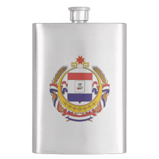 Coat of arms of Mordovia Hip Flask