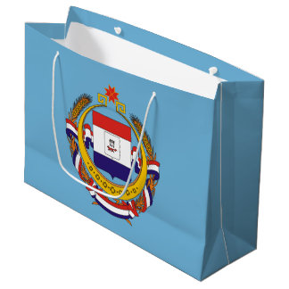 Coat of arms of Mordovia Large Gift Bag