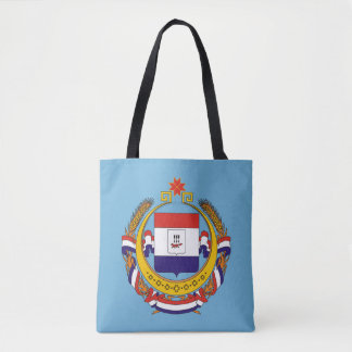 Coat of arms of Mordovia Tote Bag