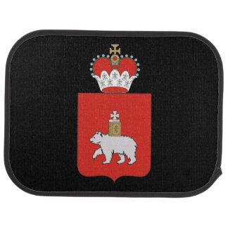 Coat of arms of Perm krai Car Mat
