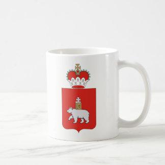 Coat of arms of Perm krai Coffee Mug