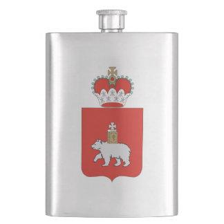 Coat of arms of Perm krai Hip Flask