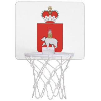 Coat of arms of Perm krai Mini Basketball Hoop