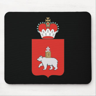 Coat of arms of Perm krai Mouse Pad
