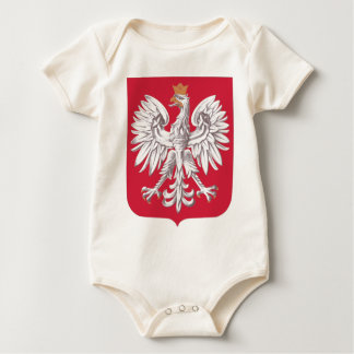 Coat_of_arms_of_Poland-official Baby Bodysuit