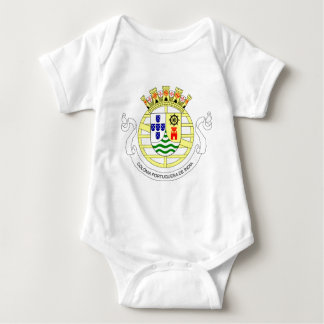 Coat_of_arms_of_Portuguese_India_(1935-1951) Baby Bodysuit