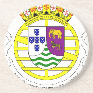 Coat_of_arms_of_Portuguese_West_Africa_(195 Beverage Coaster
