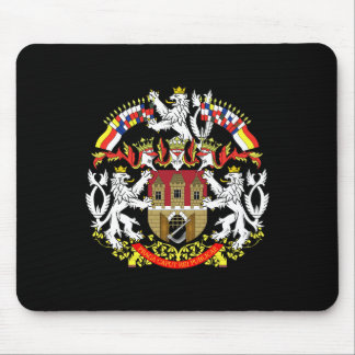 Coat of Arms of Prague Mouse Pad