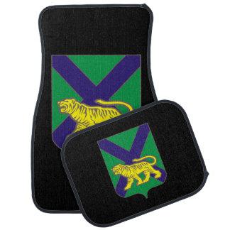 Coat of arms of Primorsky krai Car Mat
