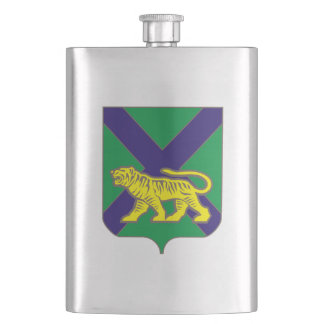 Coat of arms of Primorsky krai Hip Flask