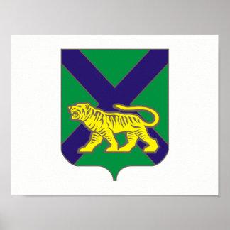 Coat of arms of Primorsky krai Poster