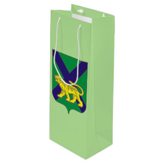 Coat of arms of Primorsky krai Wine Gift Bag